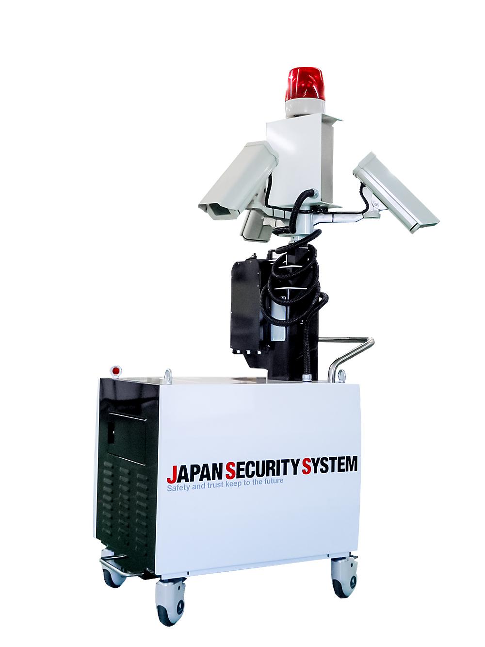 移動式監視カメラ装置の特許権を取得しました